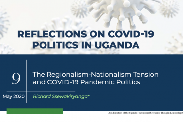The Regionalism-Nationalism Tension And Covid-19 Pandemic Politics