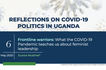 Frontline Warriors: What The Covid-19 Pandemic Teaches Us About Feminist Leadership